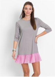 Robe, RAINBOW, gris clair/rose