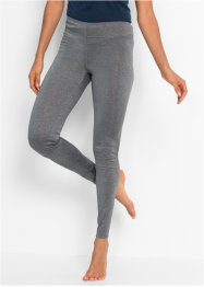 Legging de sport sans couture, bpc bonprix collection, gris fumée chiné