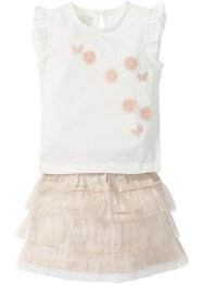 Top + jupe en tulle (ens. 2 pces.), bpc bonprix collection
