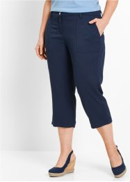Pantalon 3/4 en viscose fluide, bpc bonprix collection