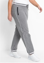 Pantalon sweat outdoor fonctionnel, long, bpc bonprix collection, gris chiné