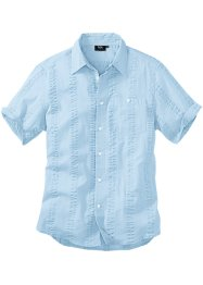 Chemise en crépon de coton Regular Fit, bpc bonprix collection