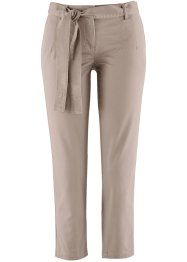 Pantalon extensible 7/8 avec lien à nouer, bpc bonprix collection