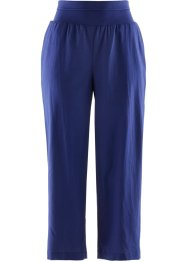 Pantalon lin 7/8 ample, bpc bonprix collection