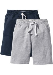 Lot de 2 bermudas matière sweat, bpc bonprix collection