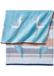 Serviette de toilette motif mouette, bpc living bonprix collection