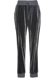 Pantalon sweat en panne de velours, bpc selection