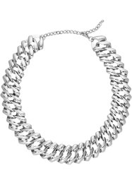 Collier double rang, bpc bonprix collection, argenté