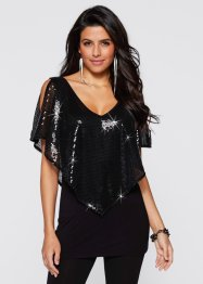 T-shirt avec sequins, BODYFLIRT boutique
