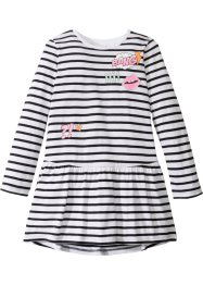Robe rayée à imprimé BD, bpc bonprix collection