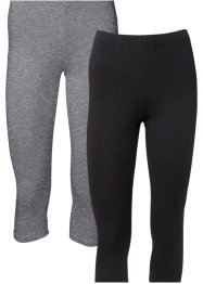 Lot de 2 leggings corsaires, BODYFLIRT