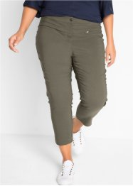 Pantalon extensible en bengaline 7/8, taille haute, bpc bonprix collection