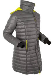 Veste longue outdoor à capuche escamotable, bpc bonprix collection