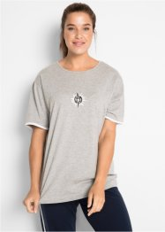 T-shirt long, manches mi-longues, bpc bonprix collection