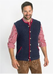 Gilet bavarois en maille sans manches Regular Fit, bpc selection
