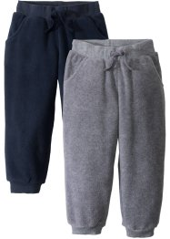 Lot de 2 pantalons en polaire, bpc bonprix collection