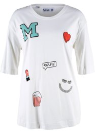 T-shirt coton, manches 1/2 - designed by Maite Kelly, bpc bonprix collection