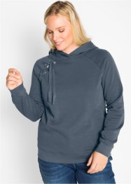 Sweat-shirt avec laçage, bpc bonprix collection