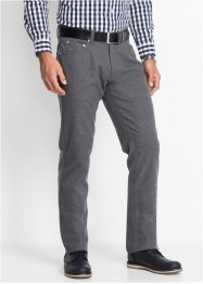 Pantalon 5 poches aspect flanelle Regular Fit, bpc selection