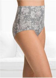 Lot de 4 slips taille haute, bpc bonprix collection