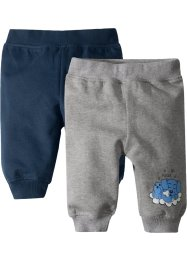 Pantalons sweat bébé en coton bio, bpc bonprix collection