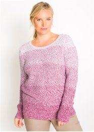 Pull col rond manches longues, bpc bonprix collection