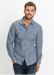Chemise manches longues Slim Fit, RAINBOW