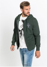Gilet sweatshirt Slim Fit, RAINBOW
