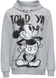 Sweat-shirt à capuche avec imprimé Mickey Mouse, Disney