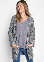 Gilet en maille oversize, bpc bonprix collection