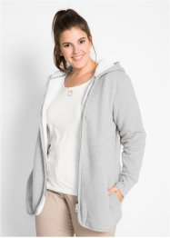 Veste sweat avec polaire, bpc bonprix collection