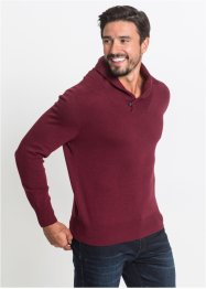 Pull col châle Regular Fit, bpc bonprix collection