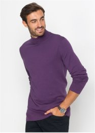 Pull col montant en fine maille Regular Fit, bpc selection