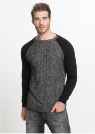 Pull avec manches/dos en sweat Slim Fit, RAINBOW