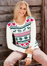 Pull jacquard, bpc bonprix collection
