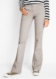 Pantalon en coton extensible bootcut, bpc bonprix collection