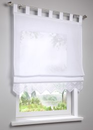 Store bateau semi-transparent avec bordure au crochet, bpc living bonprix collection