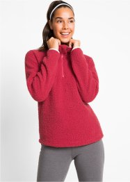 Sweat en polaire peluche, manches longues, bpc bonprix collection