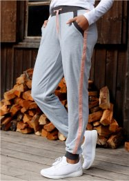 Pantalon sweat en velours ras, bpc bonprix collection