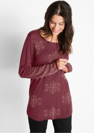Pull jacquard manches longues, bpc bonprix collection