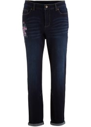Jean Boyfriend avec broderie florale, bpc bonprix collection