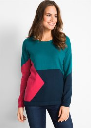 Pull motif patchwork, bpc bonprix collection