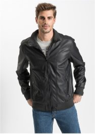 Blouson en synthétique imitation cuir Regular Fit, John Baner JEANSWEAR