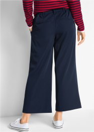 Pantalon extensible 7/8, taille semi-élastiquée, Loose Fit, bpc bonprix collection