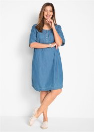 Robe en coton jean, demi-manches, bpc bonprix collection
