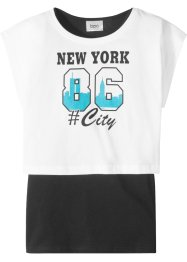 T-shirt boxy et top (Ens. 2 pces.), bpc bonprix collection
