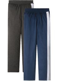 Lot de 2 pantalons de pyjama en jersey, bpc bonprix collection