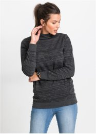Sweat-shirt long avec poches, John Baner JEANSWEAR