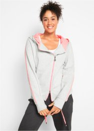 Gilet sweat-shirt long, bpc bonprix collection