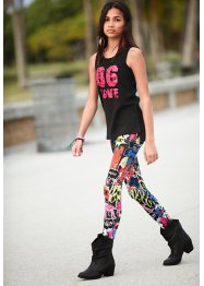 Top long + legging en jersey (Ens. 2 pces.), bpc bonprix collection
